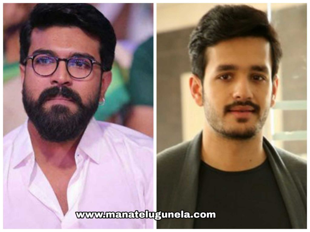 Ram Charan, Akkineni Akhil, Akhil New Movie, Ram Charan New Movie