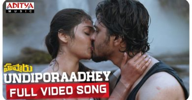 Undiporadhe full video song